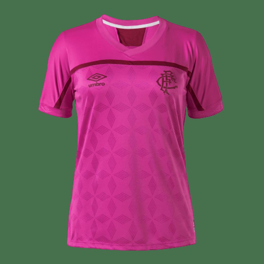 Camiseta Feminina Fluminense Comemorativa Outubro Rosa Rsa/Vin