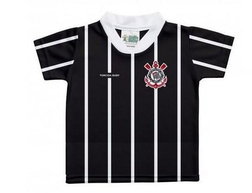 Camiseta Torcida Baby Corinthians Sublimada Licenciada - 031SSX