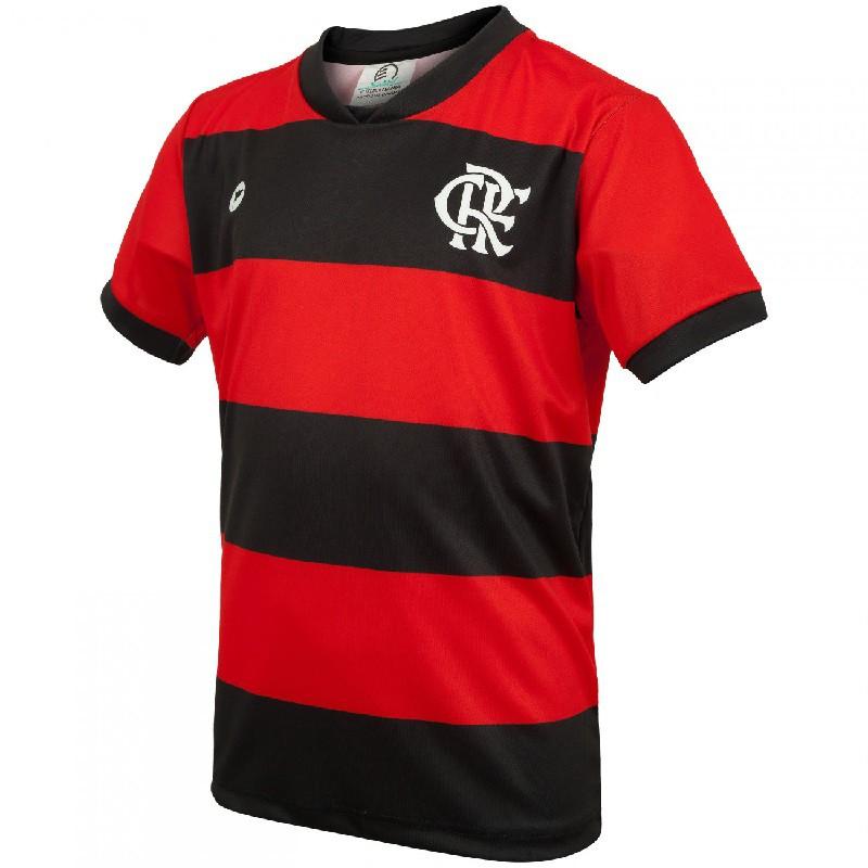 Camiseta Torcida Baby Flamengo Licenciada Sublimada - 031SSX