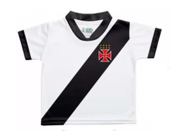 Camiseta Torcida Baby Vasco Sublimada Licenciada - 031SX