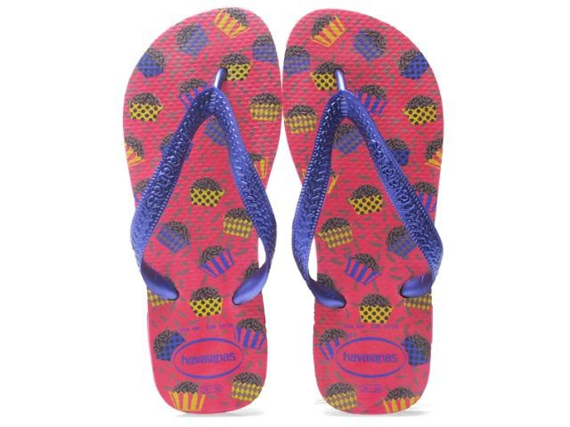 Chinelo Havaianas Feminino Honey Pink Neon