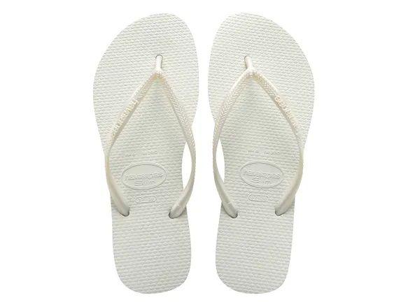 Chinelo Havaianas Feminino Slim Branco