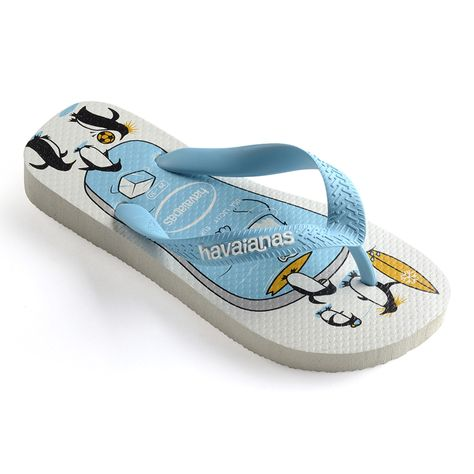 Chinelo Havaianas Infantil Kids Top Play Branco