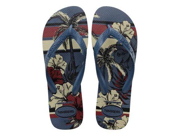 Chinelo Havaianas Masculino Aloha Azul Indigo