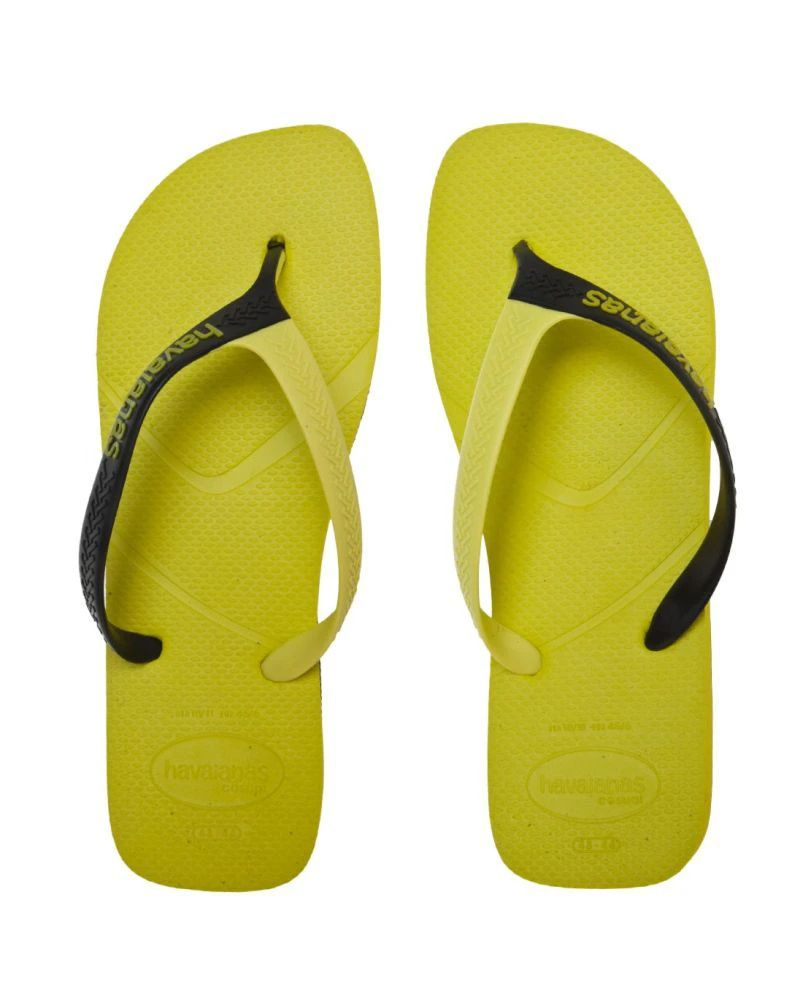 Chinelo Havaianas Masculino Casual Amarelo Neon