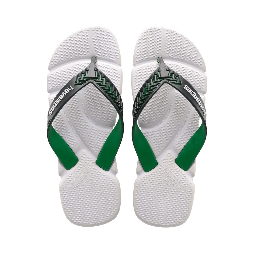 Chinelo Havaianas Masculino Power 2.0 BBB Branco