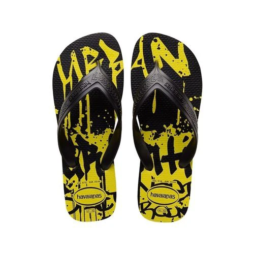 Chinelo Havaianas Masculino Top Max Street Amarelo Neon
