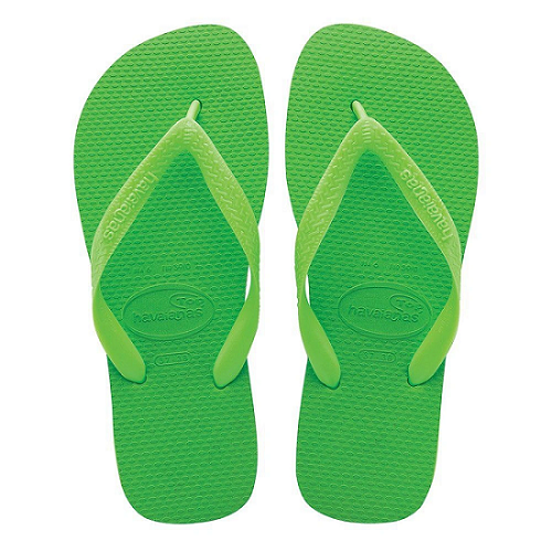Chinelo Havaianas Unissex Top Verde Neon com Elétrico