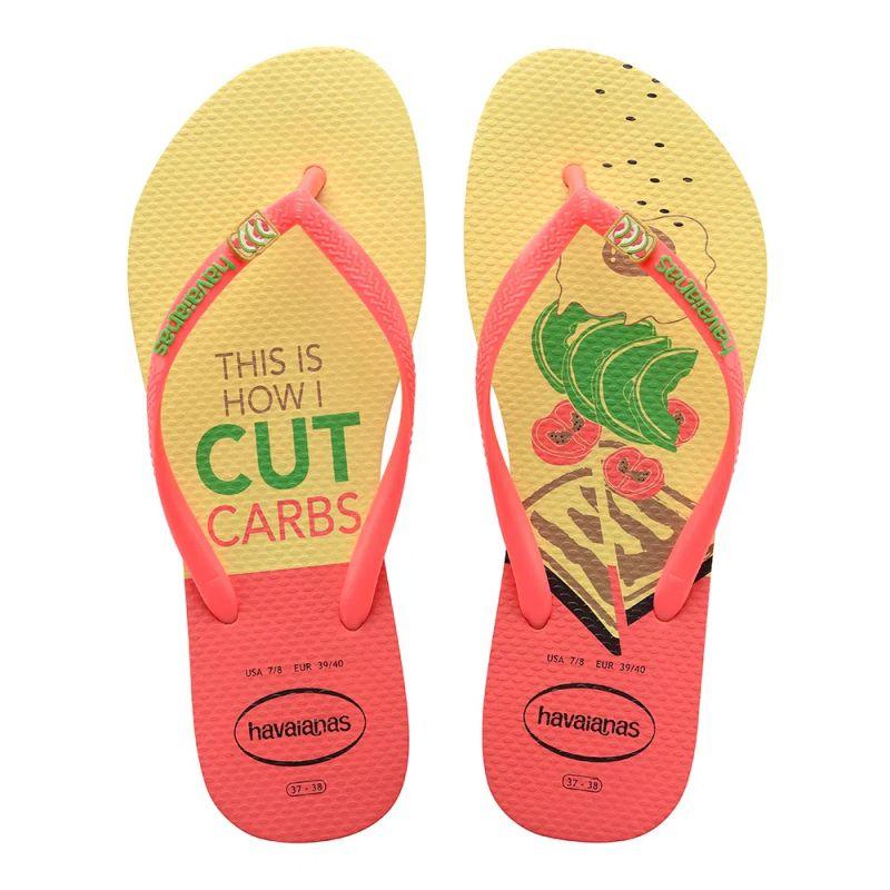Chinelo Feminino Havaianas Slim Cool This is How I Cut Carbs