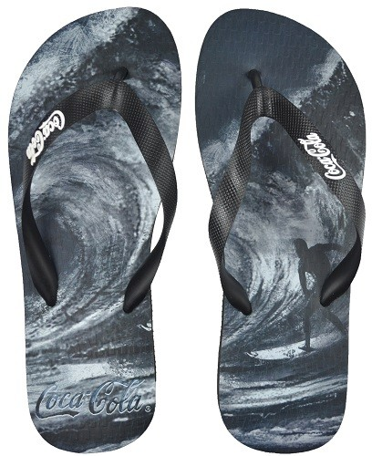 Chinelo Coca-Cola Wave