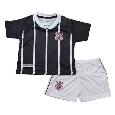Conjunto Sublimado Torcida Baby Corinthians Licenciada - 031SS