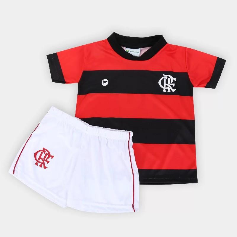 Conjunto Sublimado Torcida Baby Flamengo Licenciada - 031S