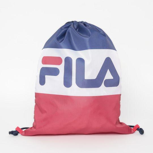 Gym Sack Esportivo Fila Flag Mar/Bco/Vrm LS560008