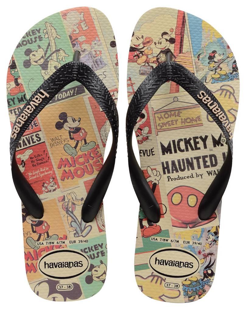 Chinelo Havaianas Disney Stylish Mickey Mouse