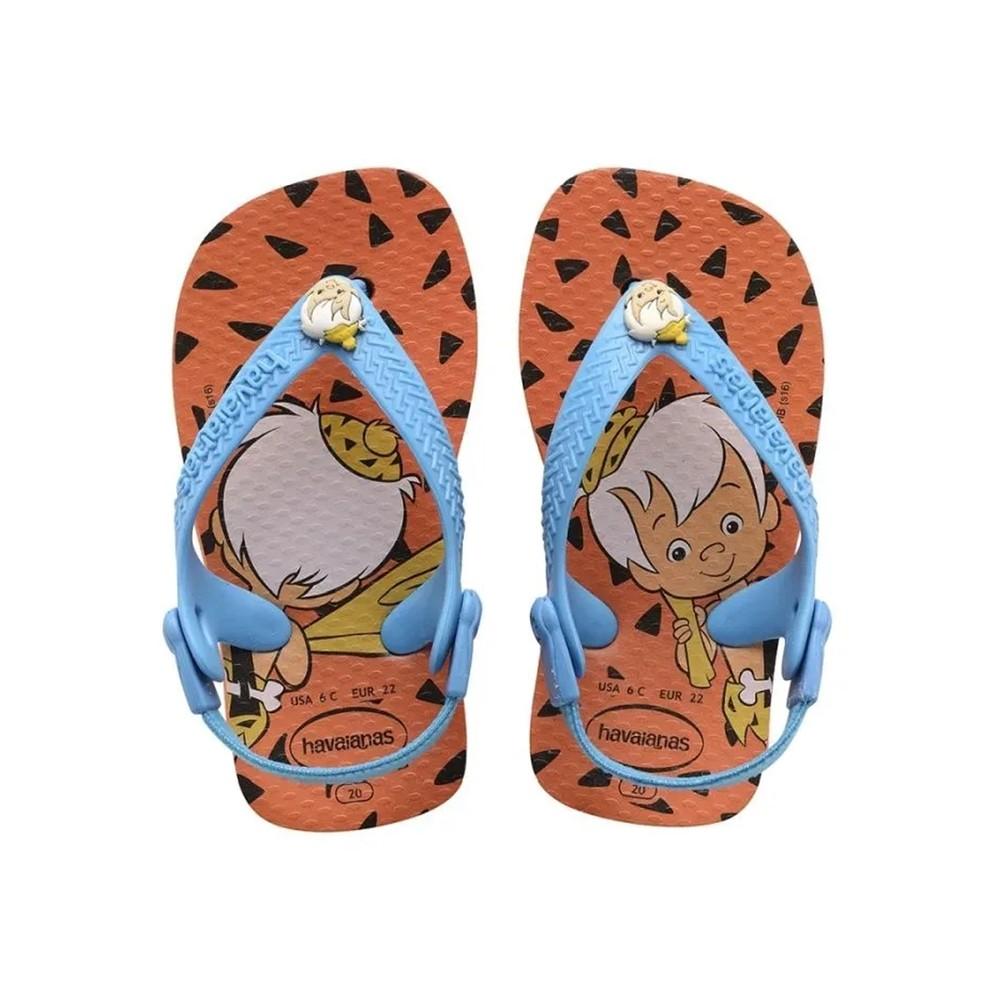 Havaianas Sandália Bebê New Baby Os Flintstones BamBam