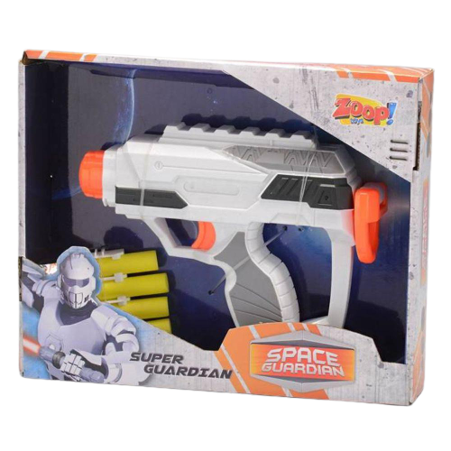 Lança Dardo Space Guardian Zoop Toys ZP00238 Branco