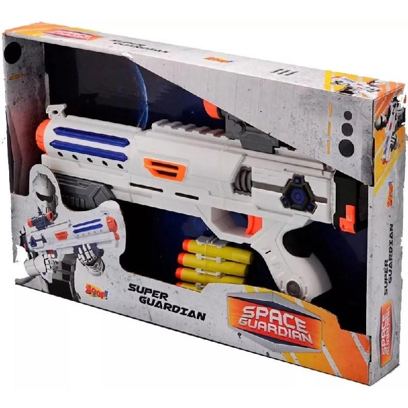 Lanca Dardos Space Guardian Zoop Toys ZP00237 Branco