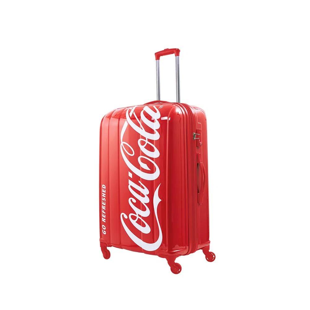 Mala De Viagem Coca Cola Split Estampada Pacific