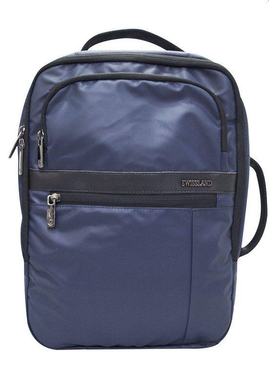 Mochila Executiva Notebook Azul Marinho- SWISSLAND YS28061