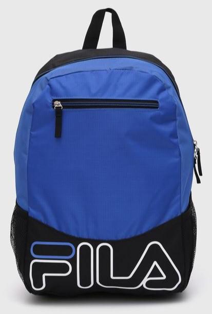 Mochila Fila Week Unissex Ta640063 Azul com Preto