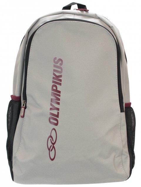 Mochila Olympikus Essential com Compartimento para Notebook OIUWA91801 Cinza com Preto e Marsala