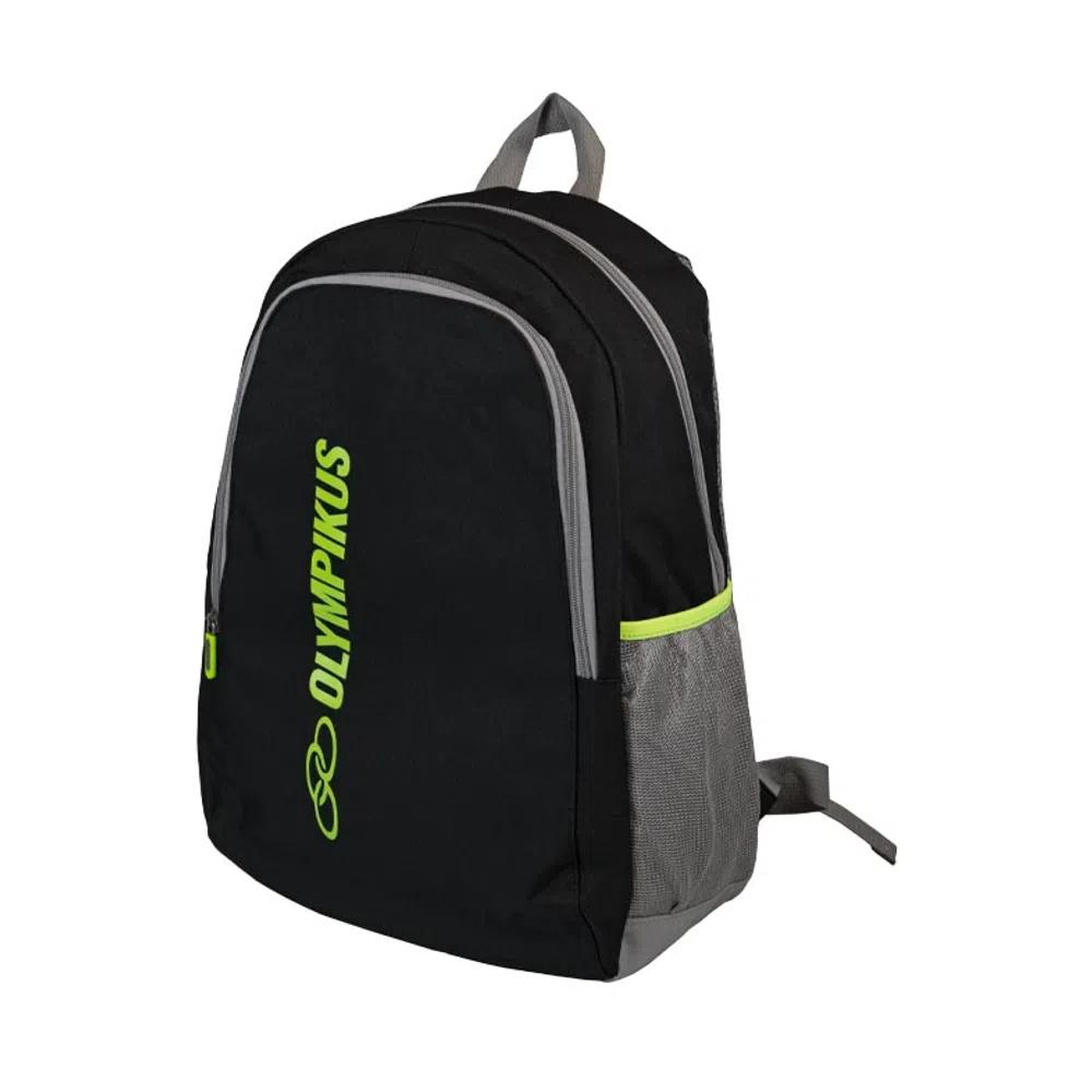 Mochila Olympikus Essential com Compartimento para Notebook OIUWA91801 Preto com Limão
