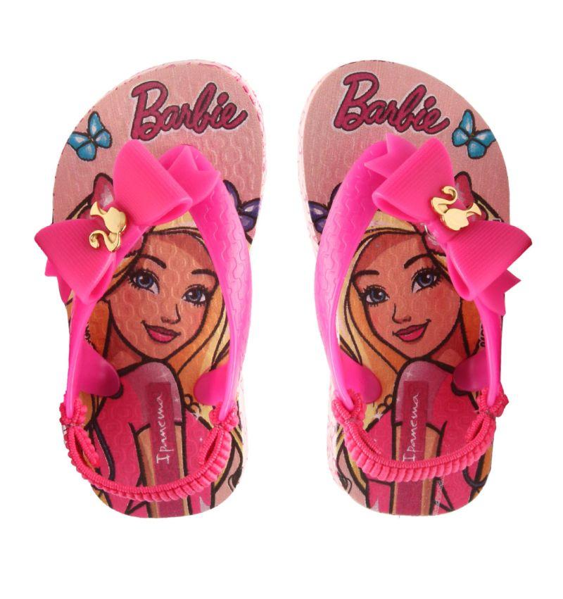 Sandália Bebê Ipanema Baby Barbie Rosa/Rosa