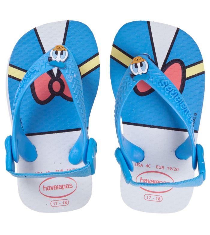 Sandália Bebê Havaianas Infantil Baby Disney Pato Donald