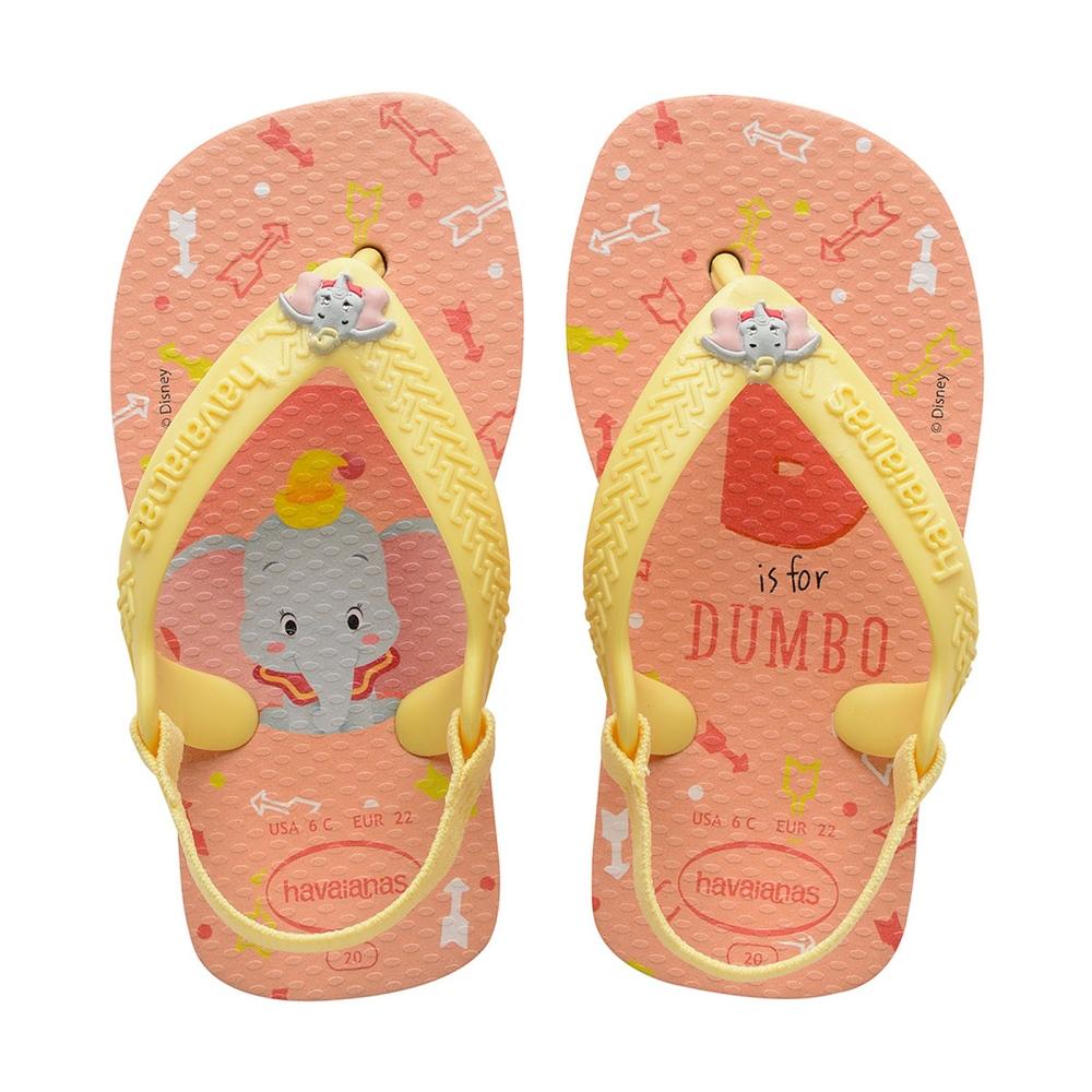 Sandália Havaianas New Baby Disney Classic Dumbo Rosa Ballet