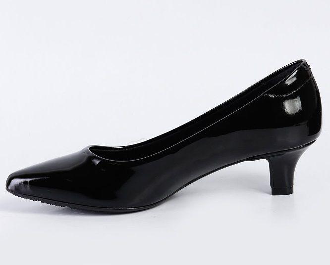 Sapato Scarpin Modare Salto Baixo Verniz Premium Preto - 7314100