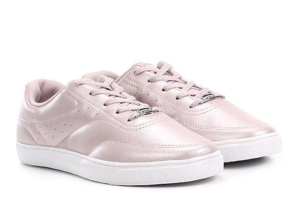 Tenis Casual Feminino Azaleia 968/520 - Mist Cintilante