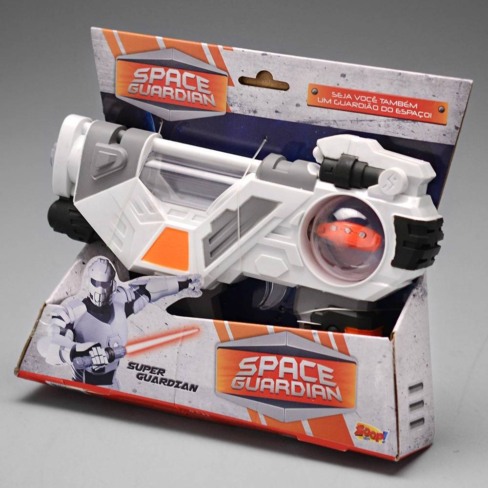 Ultra Pistola Space Guardian laser (luzes) e sons Zoop Toys ZP00233