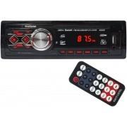 Auto Rádio Som Mp3 Player Automotivo Carro Bluetooth Fm Sd Usb Controle