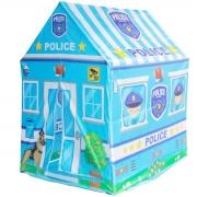 Barraca Infantil Toca Estação Policial Menino Cabana Tenda Divertida Brinqway BW133P