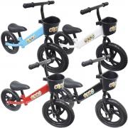 Bicicleta Infantil Sem Pedal Balance Equilibrio Aro 12 Criança Pneu Eva Importway BW152