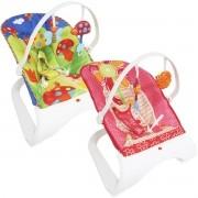 Cadeira Cadeirinha Bebê Descanso Vibratória Musical Brinquedos Menina Menino Importway BW-095