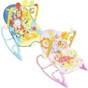 Cadeira Cadeirinha Bebê Descanso Vibratória Musical com Balanço Menina Menino Importway BW-094