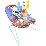 Cadeira Cadeirinha Bebê Descanso Vibratória Musical Menino Macia Azul Importway BW-093AZ