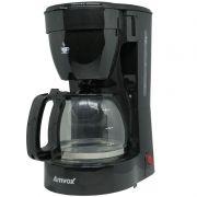 Cafeteira Elétrica 14 Xícaras Café Amvox Nova com Colher Dosadora ACF 227 NEW Preta
