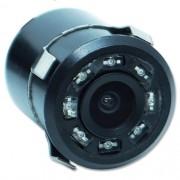 Câmera de Ré Parachoque Infravermelho Led Noturna Cinoy YN-CDRE02 18,5mm Preto