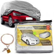 Capa Cobrir Protetora Cadeado Corolla New Civic Cruze Vectra Jetta Focus C4 A4 A5 Cerato