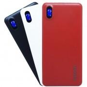Carregador Portátil Power Bank Display Led Bateria 10000mAh Celular Tablet Usb Exbom PB-M81 Slim