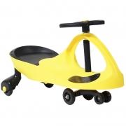 Carrinho Gira Gira Car Infantil Brinquedo Criança Importway Giro BW-004-AM Amarelo