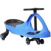 Carrinho Gira Gira Car Infantil Brinquedo Criança Importway Giro BW-004 Azul