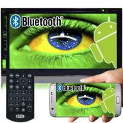 Central Multimídia Dvd Automotivo 2 Din 7.0 Knup KP-C21 Wifi Android Espelhamento Bluetooth Gps
