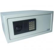 Cofre Digital Eletrônico 43x35x20 Senha Teclado Chave Residêncial Grande Importway IWCFS-001 Branco