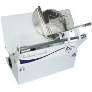 Cortador Fatiador Frios Elétrico Lâmina Inox 170mm Ajuste Espessura 110V 127V Arbel 170 S 3.0 Branco