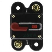 Disjuntor Automotivo 250A Proteção Som Bateria Resetável Liga Desliga