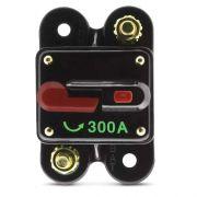 Disjuntor Automotivo 300A Proteção Som Bateria Resetável Liga Desliga