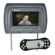 Encosto Cabeça Tela Monitor Leitor Dvd Tech One Standard Grafite